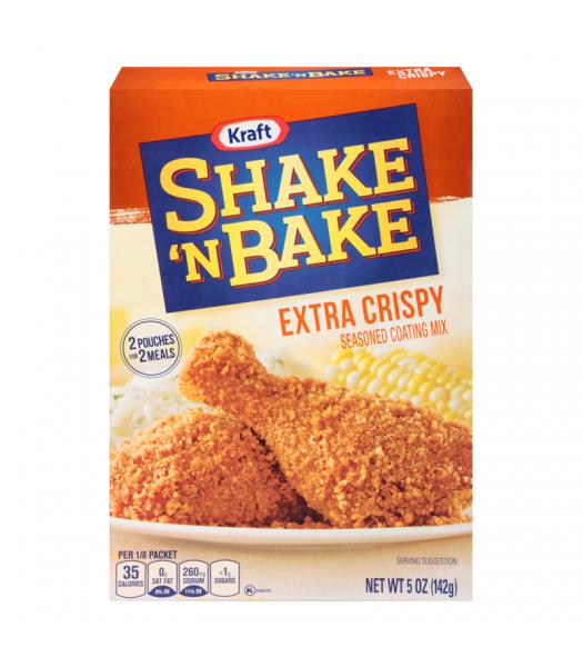 Shake 'N Bake Extra Crispy Chicken Seasoned Coating Mix 5oz (142g) Food and Groceries Shake 'N Bake
