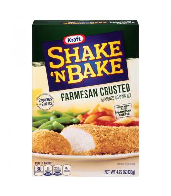 Kraft Shake N Bake Parmesan 4.75 oz (135g) Baking & Cooking Kraft
