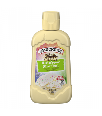 Clearance Special - Smucker's Magic Shell Rainbow Sherbet Topping 7.25oz (206g) (Best Before: 22 Apr 2016)
