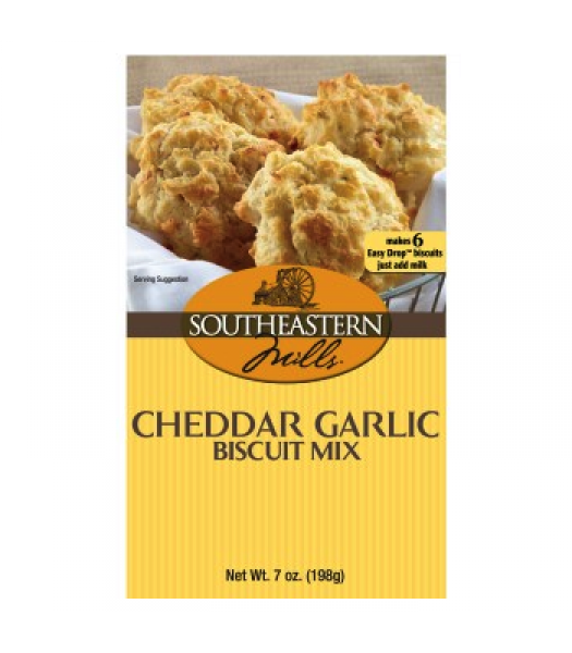Southeastern Mills Cheddar Garlic Biscuit Mix 7oz (198g) Food and Groceries Southeastern Mills