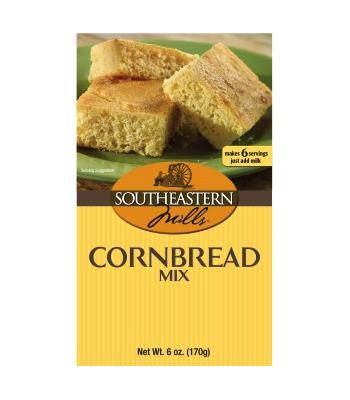 Southeastern Mills Southern Style Cornbread Mix, 6 oz (170g)