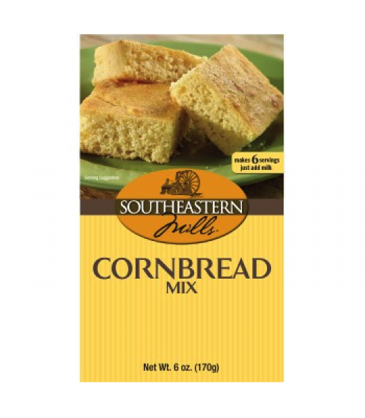 Southeastern Mills Cornbread Mix 6oz (170g) Food and Groceries Southeastern Mills