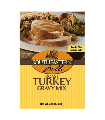Southeastern Mills Roast Turkey Gravy Mix 3oz (85g) Food and Groceries Southeastern Mills