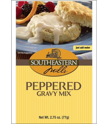 Southeastern Mills Peppered Gravy Mix 2.75oz (77g) Food and Groceries Southeastern Mills