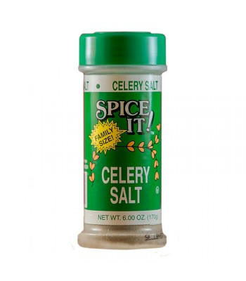 Spice It Family Size Celery Salt - 6oz (170g) Food and Groceries Spice It