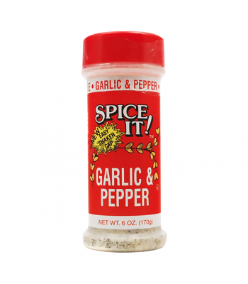 Spice It Garlic Pepper - 6oz (170g) Food and Groceries Spice It