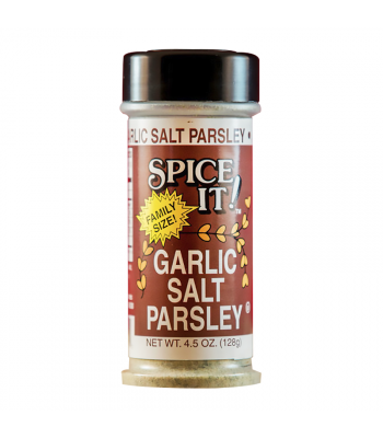 Spice It - Garlic Salt Parsley - 4.5oz (128g) Food and Groceries
