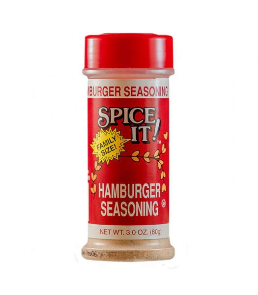 Spice It Hamburger Seasoning 3oz Food and Groceries