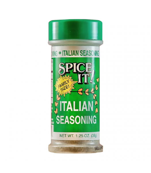 Spice It Family Size Italian Seasoning - 1.25oz (35g) Food and Groceries Spice It