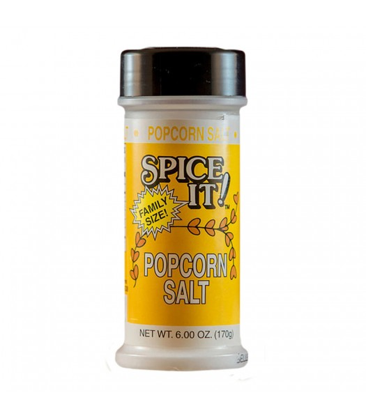 Spice It Popcorn Salt Seasoning 6oz (170g) Food and Groceries Spice It