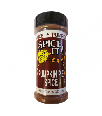 Spice It Pumpkin Pie Seasoning 2.25oz (64g) Spices & Seasonings