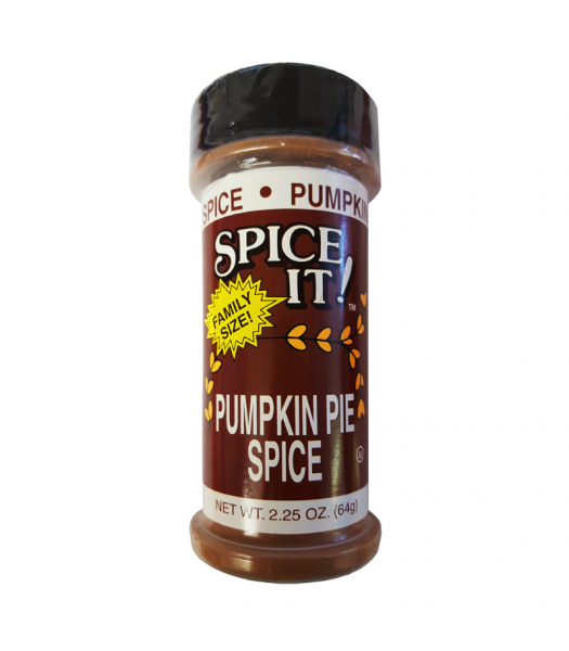 Spice It Pumpkin Pie Seasoning - 2.25oz (64g) Food and Groceries Spice It