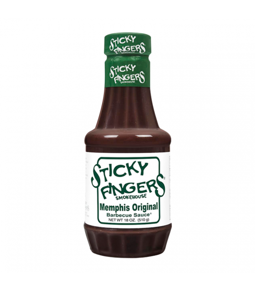 Sticky Fingers Smokehouse - Memphis Original BBQ Sauce - 18oz (510g) Food and Groceries
