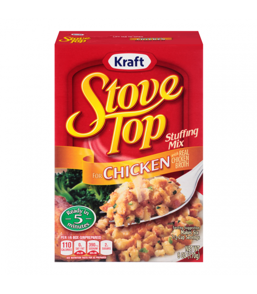 Stove Top Chicken Stuffing Mix 6oz (170g) Baking & Cooking Stove Top