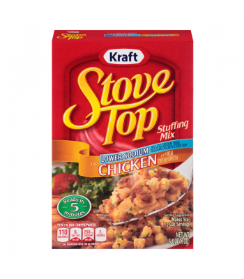 Stove Top Lower Sodium Chicken Stuffing Mix 6oz (170g) Baking & Cooking Stove Top