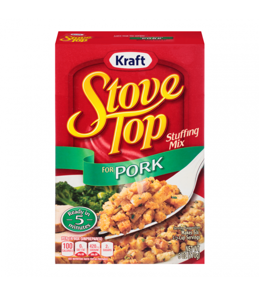 Stove Top Pork Stuffing Mix 6oz (170g) Food and Groceries Stove Top