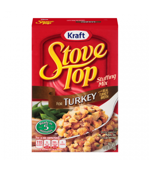 Stove Top Turkey Stuffing Mix 6oz (170g) Food and Groceries Stove Top