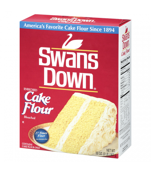 Swans Down Enriched Cake Flour 32oz (907g) Baking & Cooking