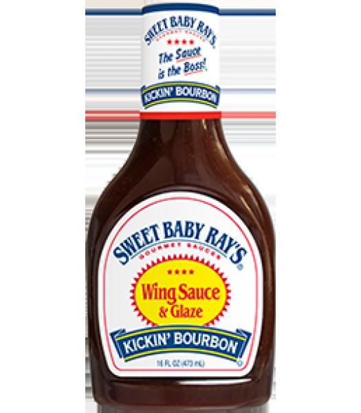 Sweet Baby Ray's Kickin' Bourbon Sauce & Marinade - 16fl.oz (473ml) Food and Groceries Sweet Baby Ray's