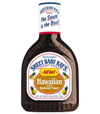 Sweet Baby Ray's Hawaiian Barbecue Sauce 18oz (510g) Sauces & Condiments Sweet Baby Ray's