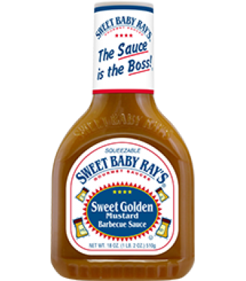 Sweet Baby Ray's Sweet Golden Mustard Barbecue Sauce 18oz (510g) Sauces & Condiments Sweet Baby Ray's