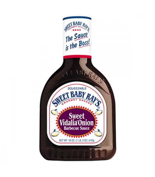 Sweet Baby Rays BBQ Sauce Sweet Vidalia Onion 18oz (510g) Sauces & Condiments Sweet Baby Ray's