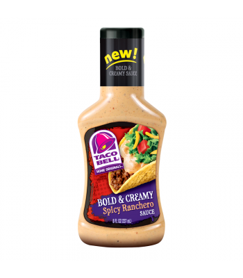 Taco Bell Home Originals Bold & Creamy Spicy Ranchero Sauce 8fl.oz (237ml) Sauces & Condiments