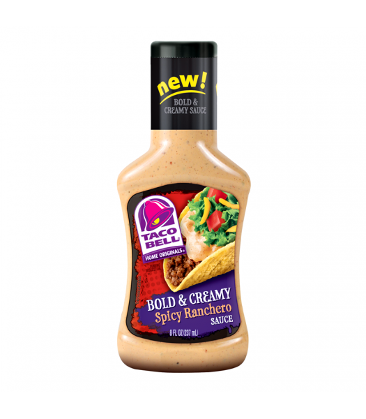 Taco Bell Home Originals Bold & Creamy Spicy Ranchero Sauce 8fl.oz (237ml) Sauces & Condiments