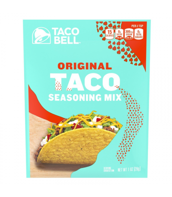 Taco Bell Original Taco Seasoning Mix - 1oz (28g) Food and Groceries Taco Bell