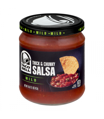Taco Bell Thick & Chunky Salsa Mild 16oz (453g) Food and Groceries Taco Bell