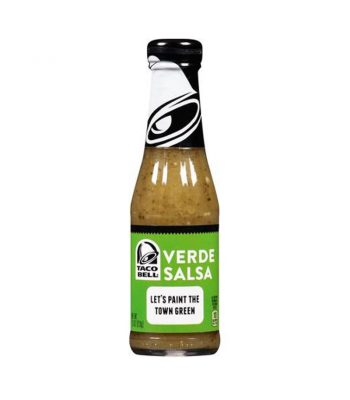 Clearance Special - Taco Bell Verde Salsa 7.5oz (213g) **Best Before: 19 March 18** Clearance Zone