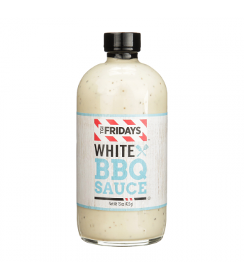 TGI Fridays White BBQ Sauce - 15oz (425g) Food and Groceries TGI Fridays