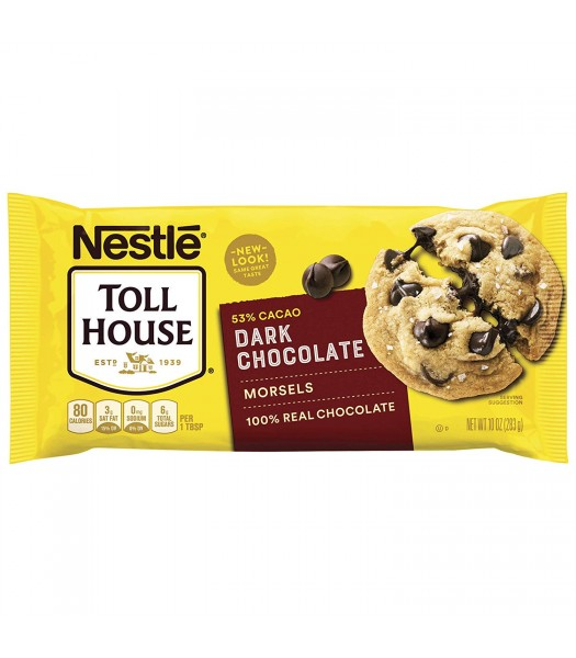 Nestle Toll House Dark Chocolate Morsels - 10oz (283g) Food and Groceries Nestle