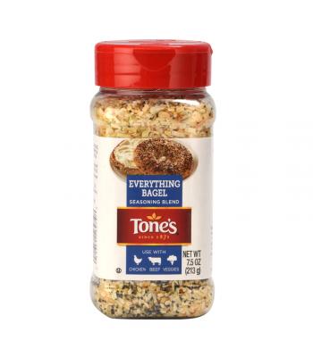 Tone's Everything Bagel Seasoning - 7.5oz (212g) Food and Groceries