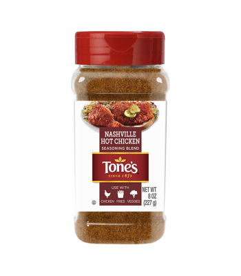 Tone's Nashville Hot Chicken Seasoning Blend - 8oz (227g) Food and Groceries