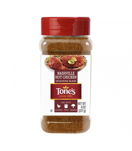 Tone's Nashville Hot Chicken Seasoning Blend - 8oz (227g) Food and Groceries