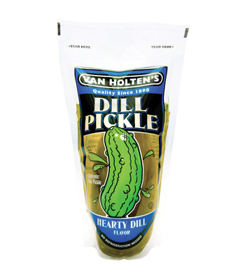 Van Holten's - Jumbo Dill Pickle In-a-Pouch