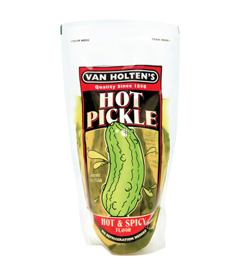 Van Holten's - Jumbo Hot Spicy Pickle In-a-Pouch