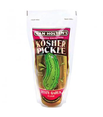 Van Holten's - Jumbo Kosher Pickle In-a-Pouch Zesty Garlic