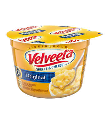 Velveeta Original Shells and Cheese Cups - 2.39oz (68g) Food and Groceries