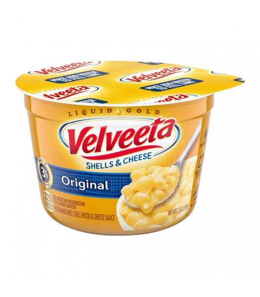 Velveeta Original Shells and Cheese Cups - 2.39oz (68g) Food and Groceries
