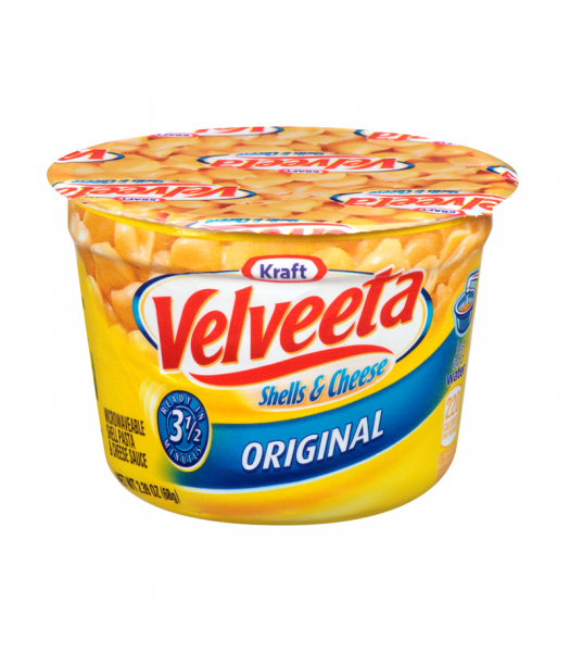 Velveeta Shells & Cheese Microwavable Cup 62g Food and Groceries Kraft