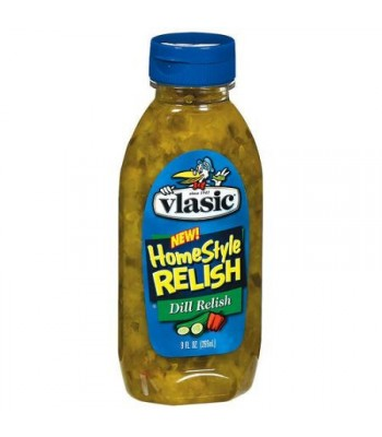 Clearance Special - Vlasic Homestyle Dill Relish 9oz (254ml) Squeezable **Best Before: 17th March 2018** Clearance Zone