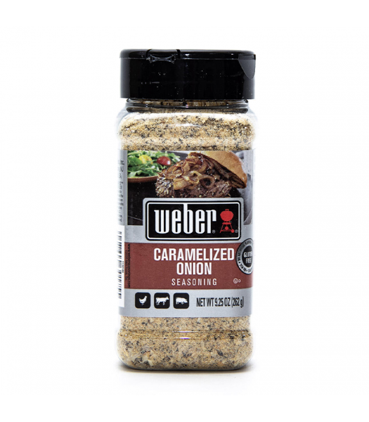 Weber Caramelized Onion Seasoning - 9.25oz (262g) Food and Groceries