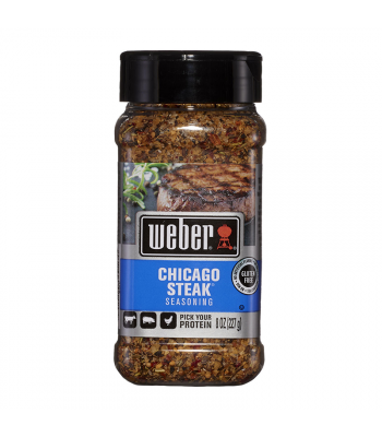 Weber Chicago Steak Seasoning - 8oz (227g) Food and Groceries