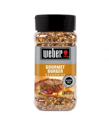 Weber Gourmet Burger Seasoning - 8oz (227g) Food and Groceries