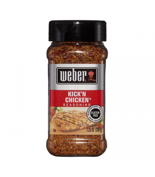 Weber Kick 'N Chicken Seasoning - 7.25oz (206g) Food and Groceries