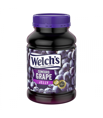 Welch's Concord Grape Jelly - 30oz (850g) Food and Groceries Welch's