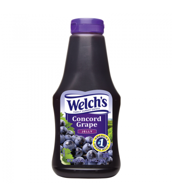 Welch's Concord Grape Squeeze Jelly 20oz (567g) Syrups & Toppings Welch's