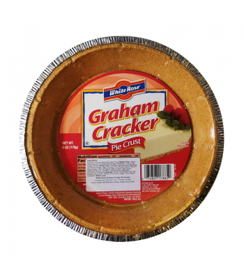White Rose Graham Cracker Pie Crust 6oz (170g) Food and Groceries